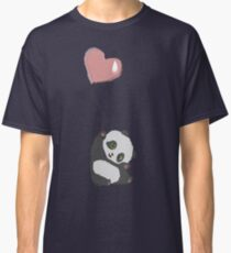 Panda And Balloon Classic T-Shirt