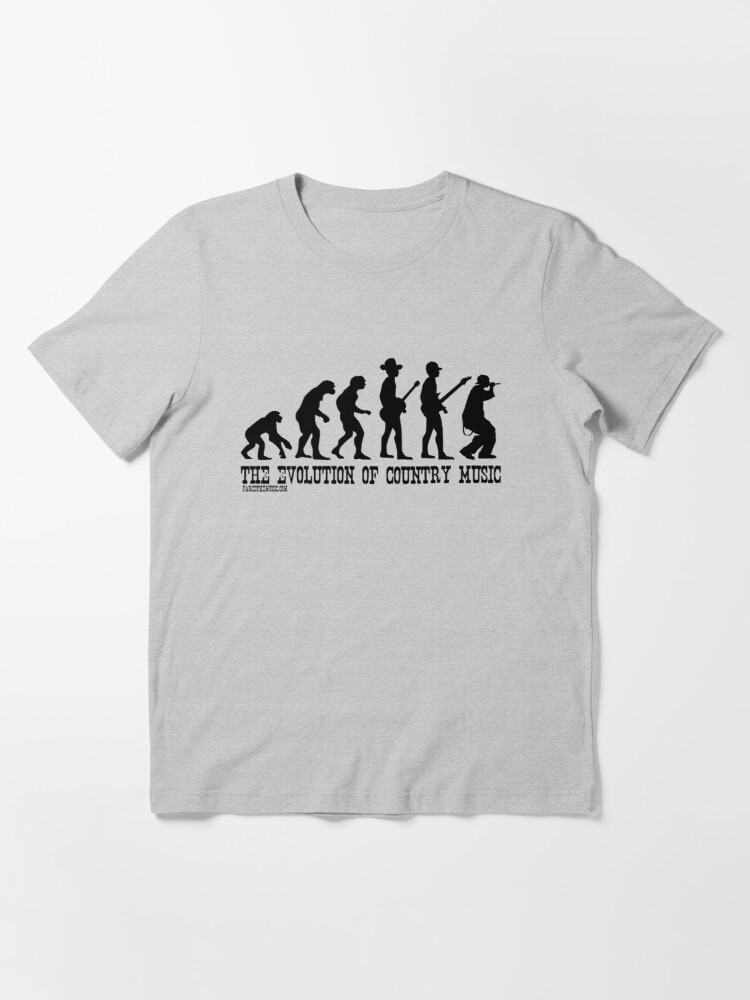 Alternate view of The Evolution of Country Music Essential T-Shirt