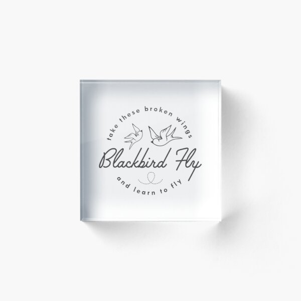 Blackbird  Acrylic Block