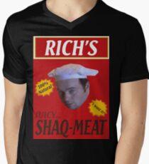 Juicy Shaq-Meat Men's V-Neck T-Shirt