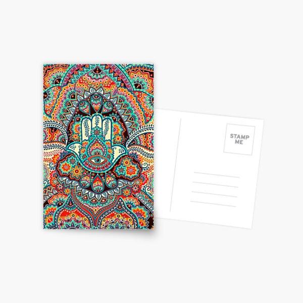 Hamsa Hand Postcard