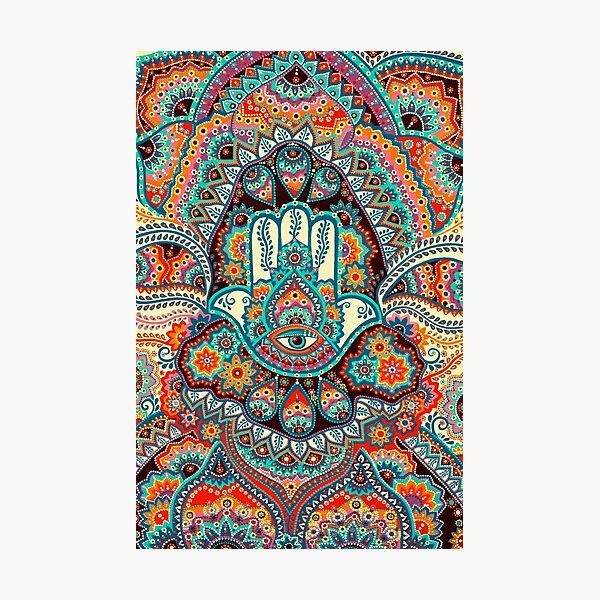 Hamsa Hand Photographic Print