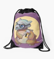 Cute Bone  Drawstring Bag