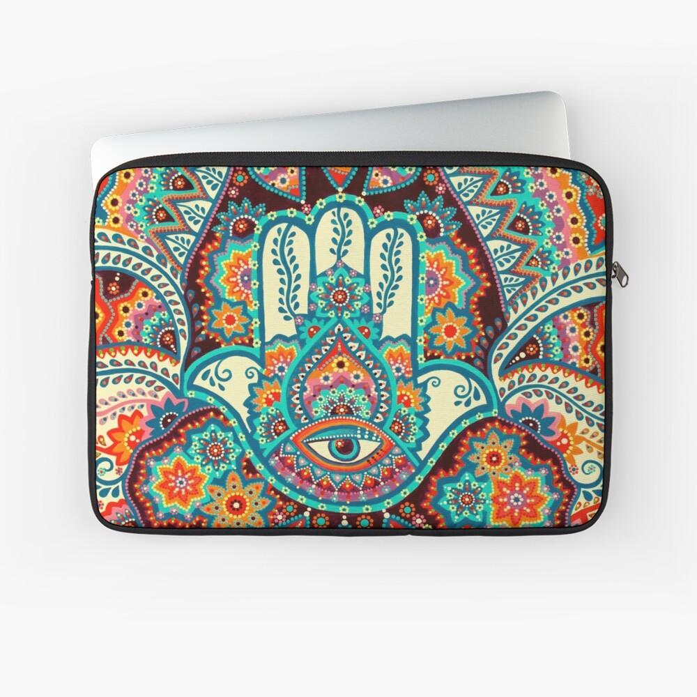Hamsa Hand Laptop Sleeve