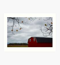 Rural Scenes, Michigan  Art Print