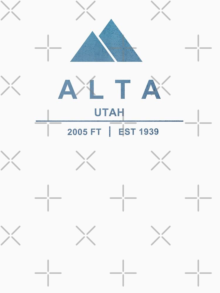 Alta Ski Resort Utah by CarbonClothing