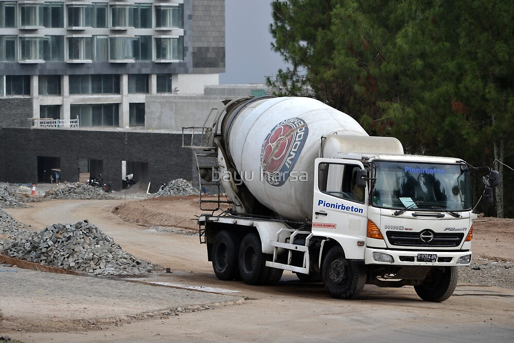 indocement concrete mixer truck by bayu harsa