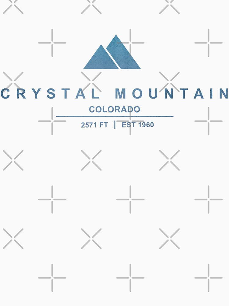 Crystal Mountain Ski Resort Colorado by CarbonClothing