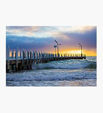 Safety Beach Jetty, Mornington Peninsula Photographic Print