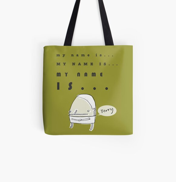 Hi, My Name Is.... Terry All Over Print Tote Bag