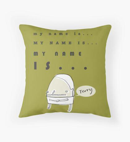 Hi, My Name Is.... Terry Throw Pillow