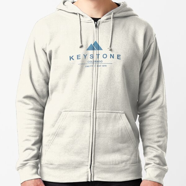 Keystone Ski Resort Colorado Zipped Hoodie
