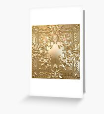 Watch the Throne Greeting Card