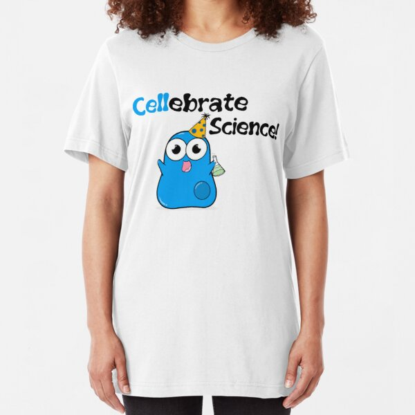 Cellebrate Science! Slim Fit T-Shirt