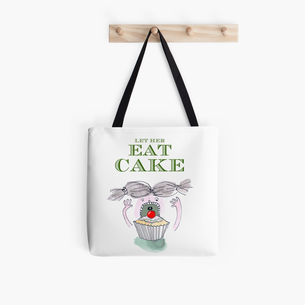 Let Her Eat Cake Birthday Card Tote Bag