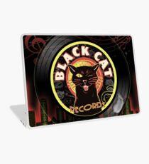 Black Cat LP Art Deco Laptop Skin