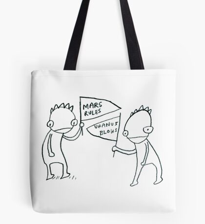 Intergalactic Sports Fans Tote Bag