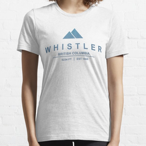 Whistler Ski Resort British Columbia Essential T-Shirt