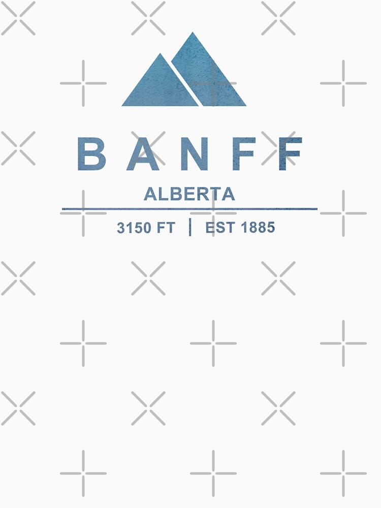 Banff Ski Resort Alberta by CarbonClothing