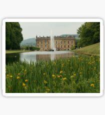 Chatsworth house Sticker