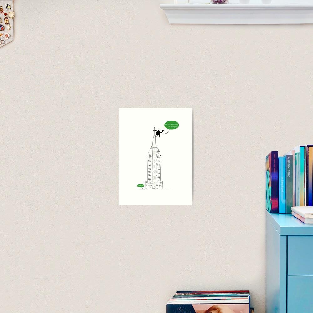 Ape For Kids Art Print
