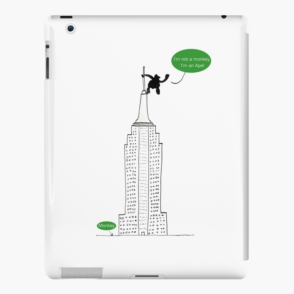 Ape For Kids iPad Case & Skin