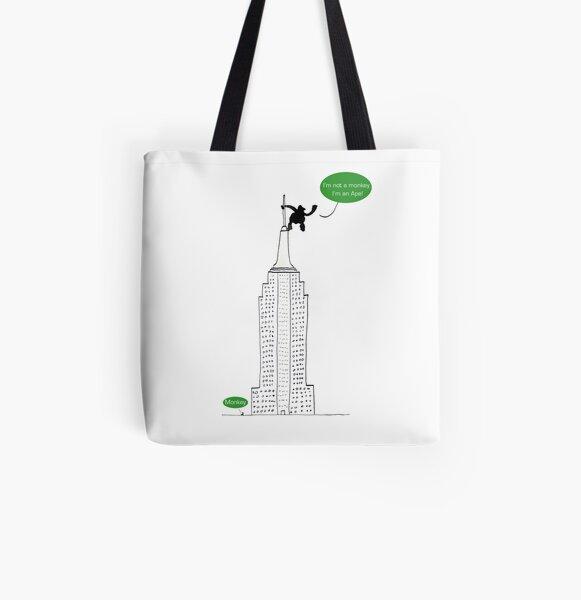 Ape For Kids All Over Print Tote Bag