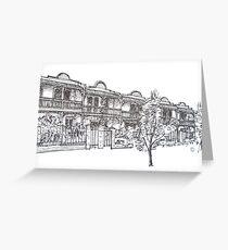 Bendall St Kensington Melbourne.  Greeting Card