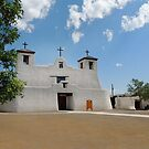 Isleta Mission, New Mexico by Gordon Beck
