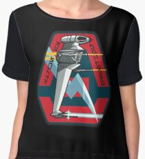 B-WING SQUADRON PATCH Chiffon Top