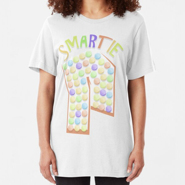Smarties Candy I Heart Smarties Women/'s Fitted T Shirt