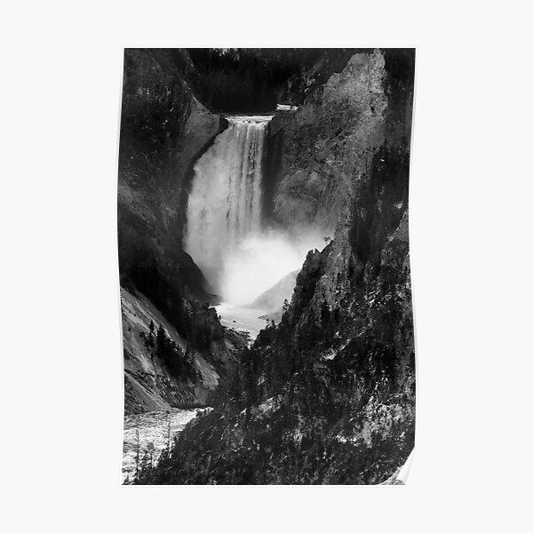 Yellowstone Canyon Falls, Yellowstone National Park, USA Poster