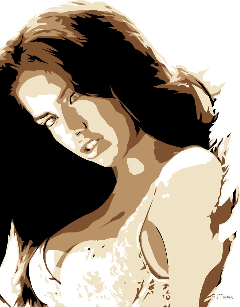 Adrianna Lima Vector Illustration by EJTees