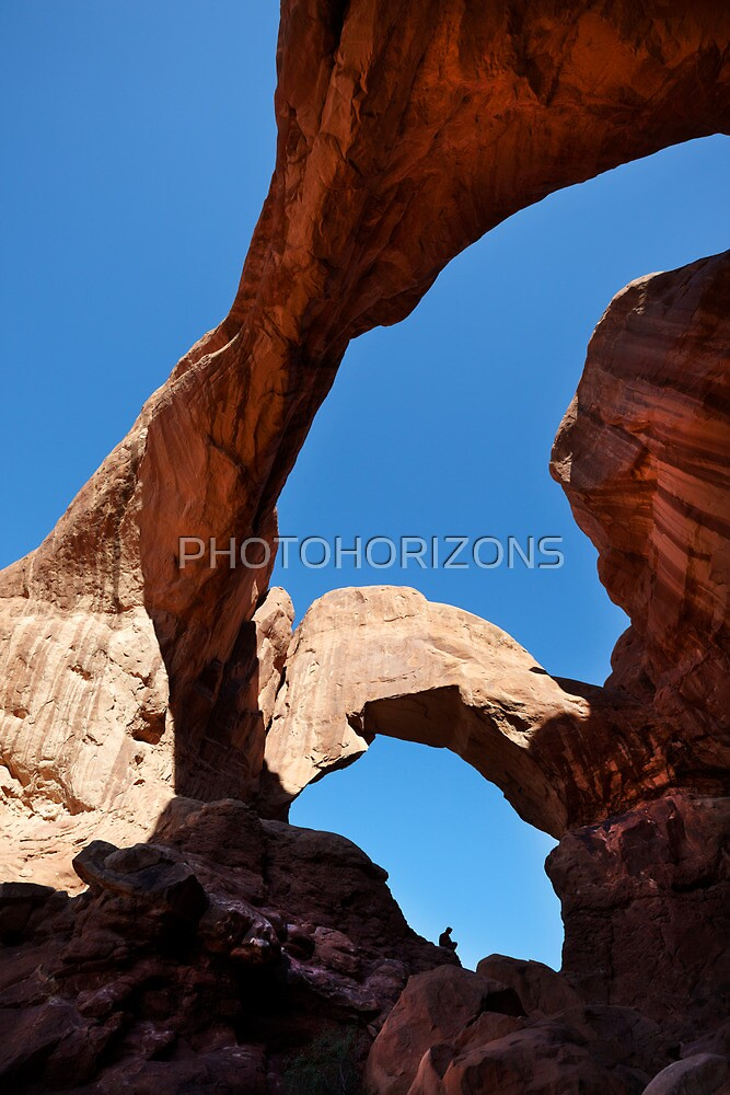 Double Arch, Arches National Park, Utah, USA. by Jonathan Maddock