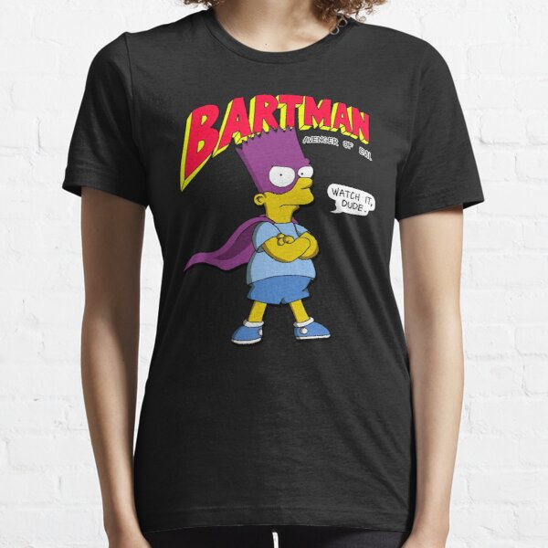 New The s-Impsons Bartman  T-Shirts Gift For Fans, For Men and Women Essential T-Shirt
