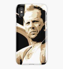 Bruce Willis Vector Illustration iPhone Case/Skin