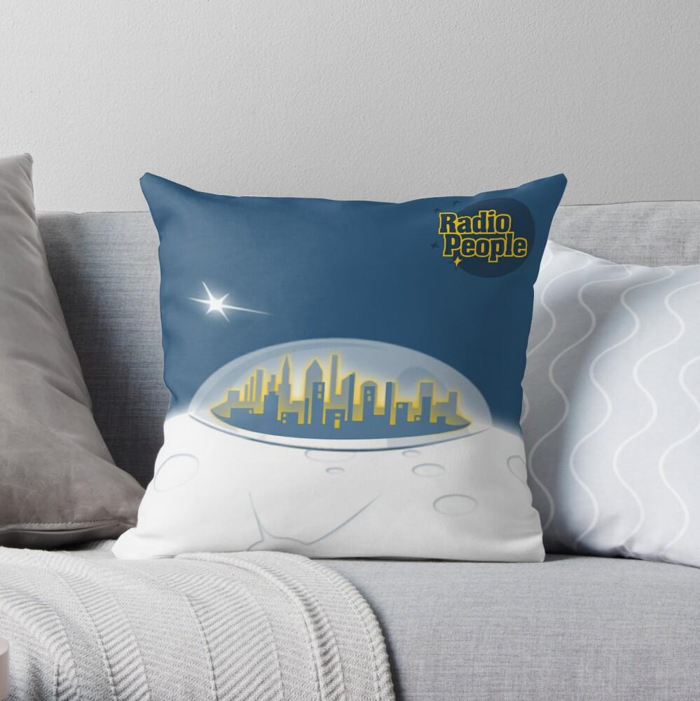 Cremebrulary Throw Pillow