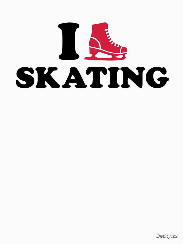 I love Skating by Designzz
