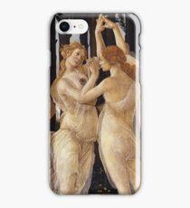 Botticelli  - La Primavera Spring . Botticelli - Spring iPhone Case/Skin