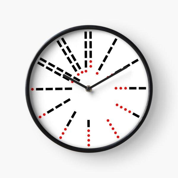 Morse Code Clock Clock