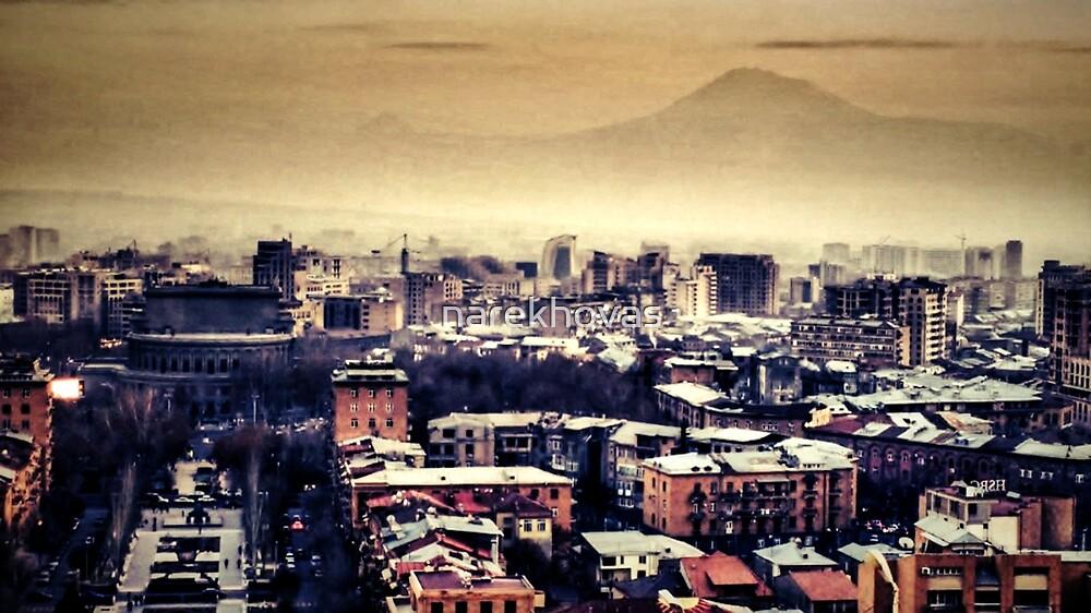 Yerevan city by narekhovas