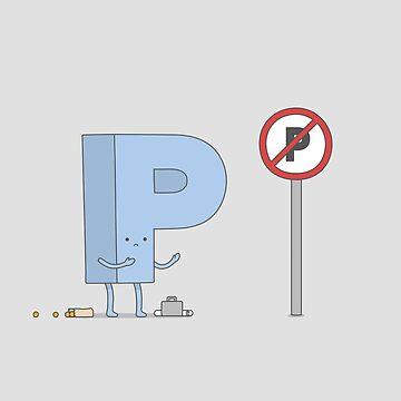 No Parking by Haasbroek