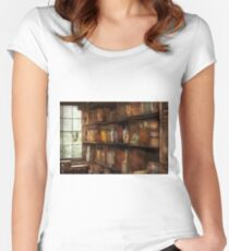 Fantasy - Wizards rule  Women's Fitted Scoop T-Shirt