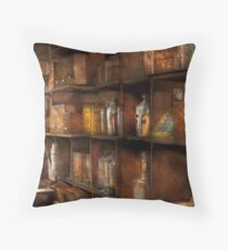 Fantasy - Wizards rule  Throw Pillow