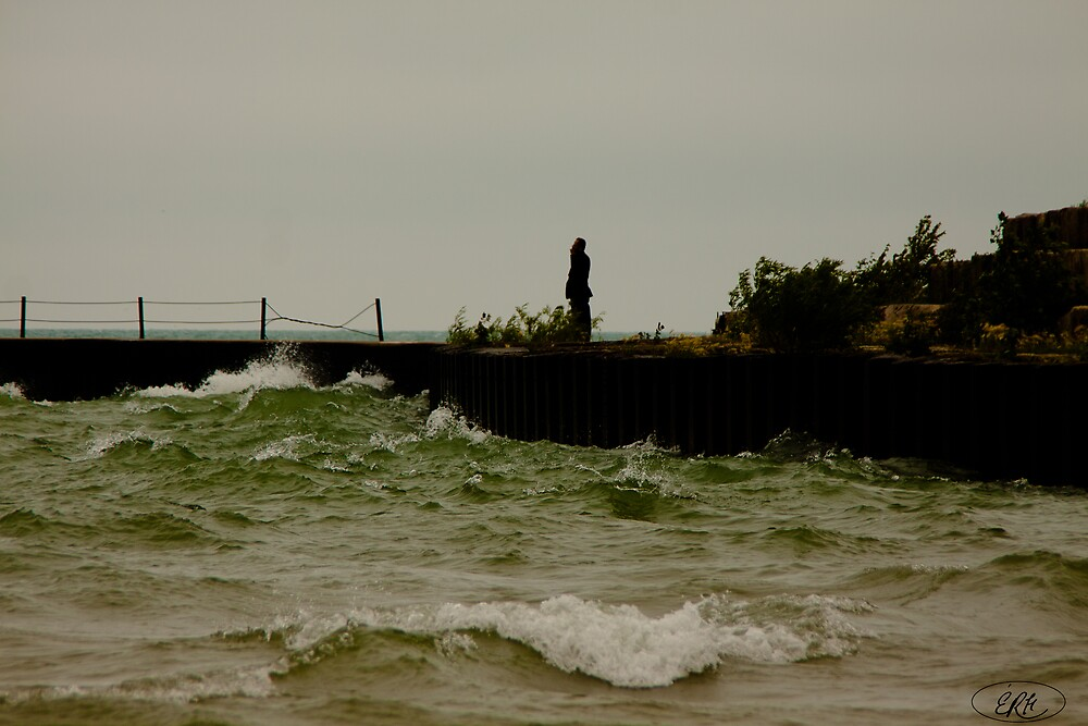 Rough Sea  by elisehendrick