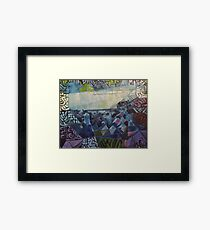 Lark's View Framed Print