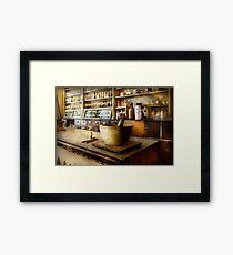Pharmacy - The source of my headache  Framed Print