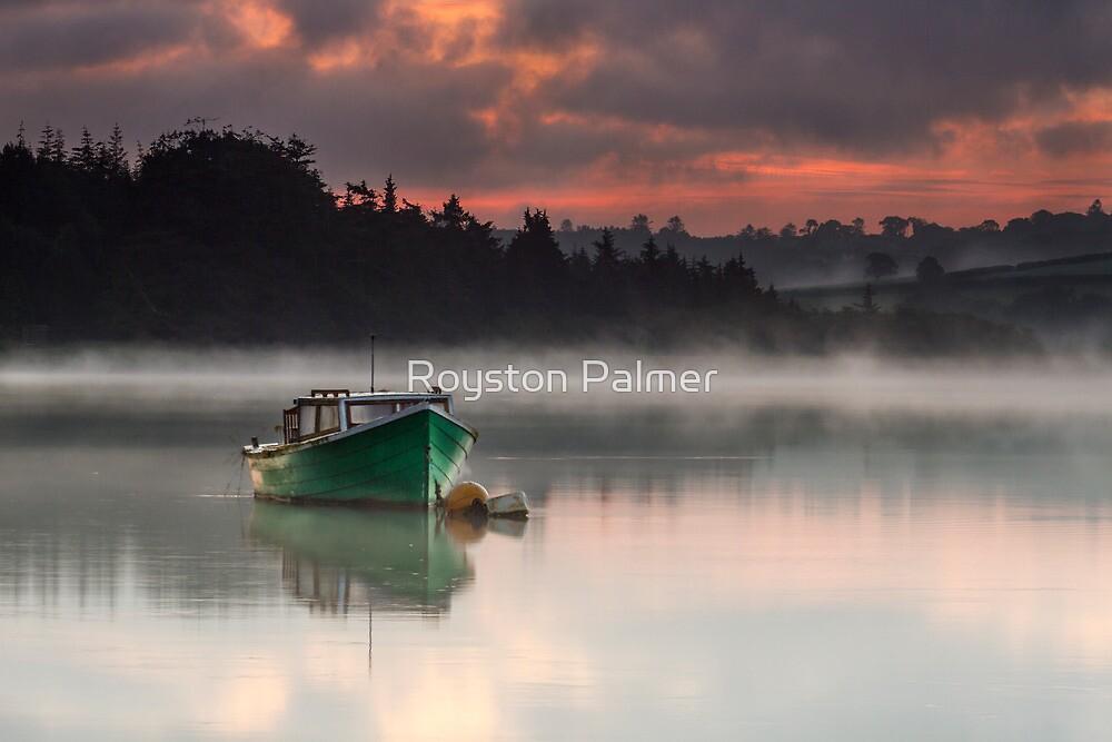 Misty Morning - River Slaney by Royston Palmer