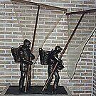 Shrimpfishers - Oostduinkerke - Belgium by Gilberte