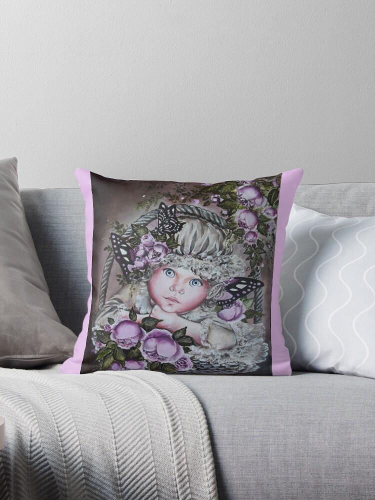 Baby fairy tote bag by Gabriella  Szabo